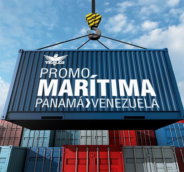 PRomocion envios maritimos panama venezuela